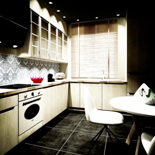 Architektura wnętrz - minimalistyczne kuchnie w dwóch odsłonach